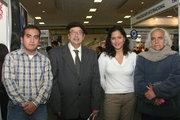 En la foto de izq. a der. Miguel Ángel Malpartida, Marcos Martos, Andrea Cabel, Arturo Corcuera.
